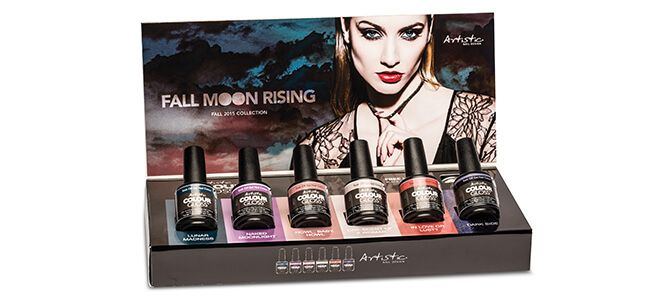 Artistic Fall Moon Rising Fall Collection Gel Polish Professional Manicure