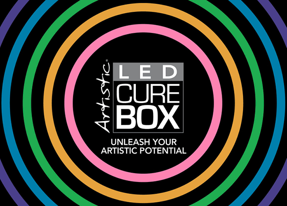 LED Cure Box