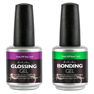 Louella Belle What's New Artistic Colour Gloss Essentials Bottles Manicure Nails Salon