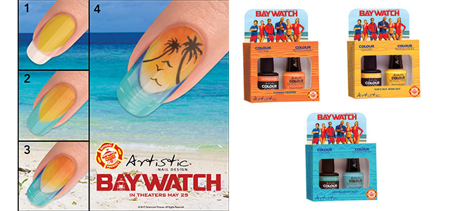 Louella Belle Artistic Baywatch Nail Art Looks