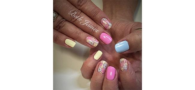 Nail Art Competition Louella Belle