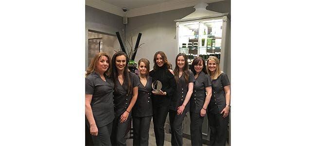Lidos Spa Professional beauty award Louella Belle