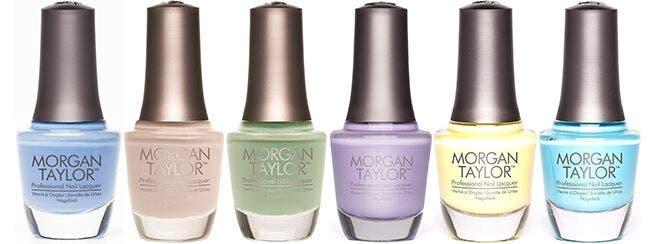 Louella Belle Artistic Nail Design Morgan Taylor Nail Polish Gel Polish Pastel Colours Shades Spring