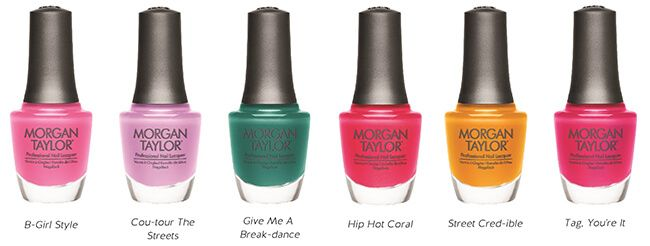 Morgan Taylor Street Beat Summer Collection Louella Belle Nail Polish Manicure Colour