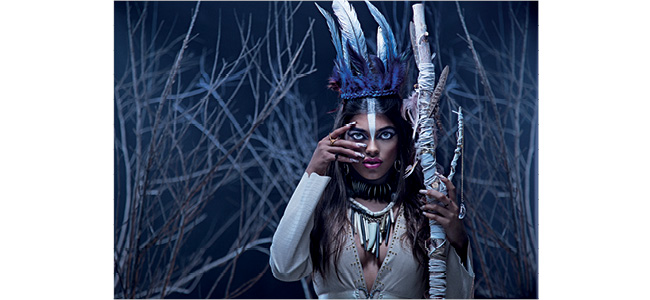 Louella Belle Artistic Tribal Instincts Winter Collection