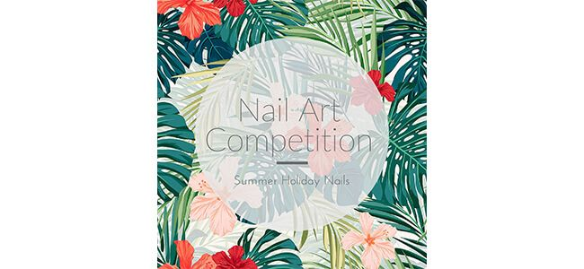 Louella Belle Nail Art Competition Artistic Colour Gloss Morgan Taylor Summer Manicure