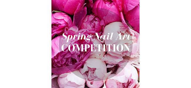 Louella Belle Spring Nail Art Competition Prizes Win Nails Manicure Professional Colour Design Nail Art