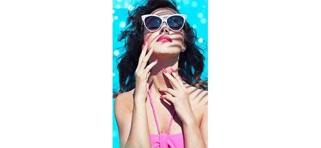 Louella Belle Neon Nails