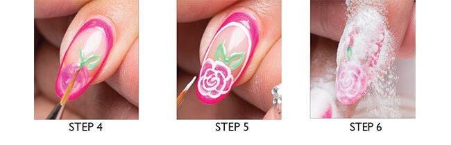 Louella Belle Artistic Nail Art Retro Redux