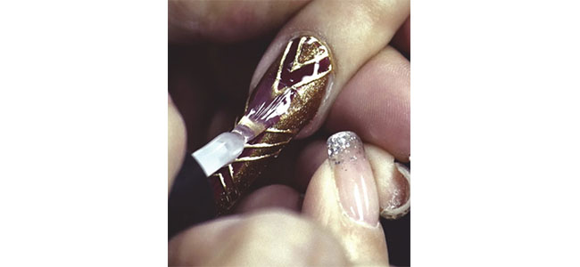 Louella Belle Artistic Nail Design Fall Collection Nail Art