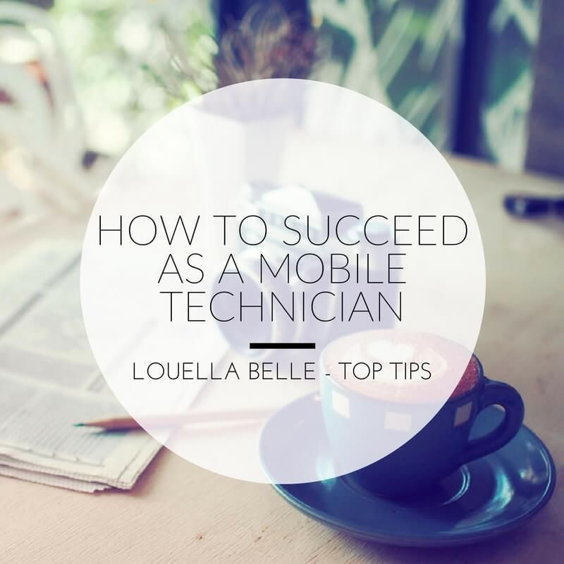 Louella Belle Mobile Technician Success