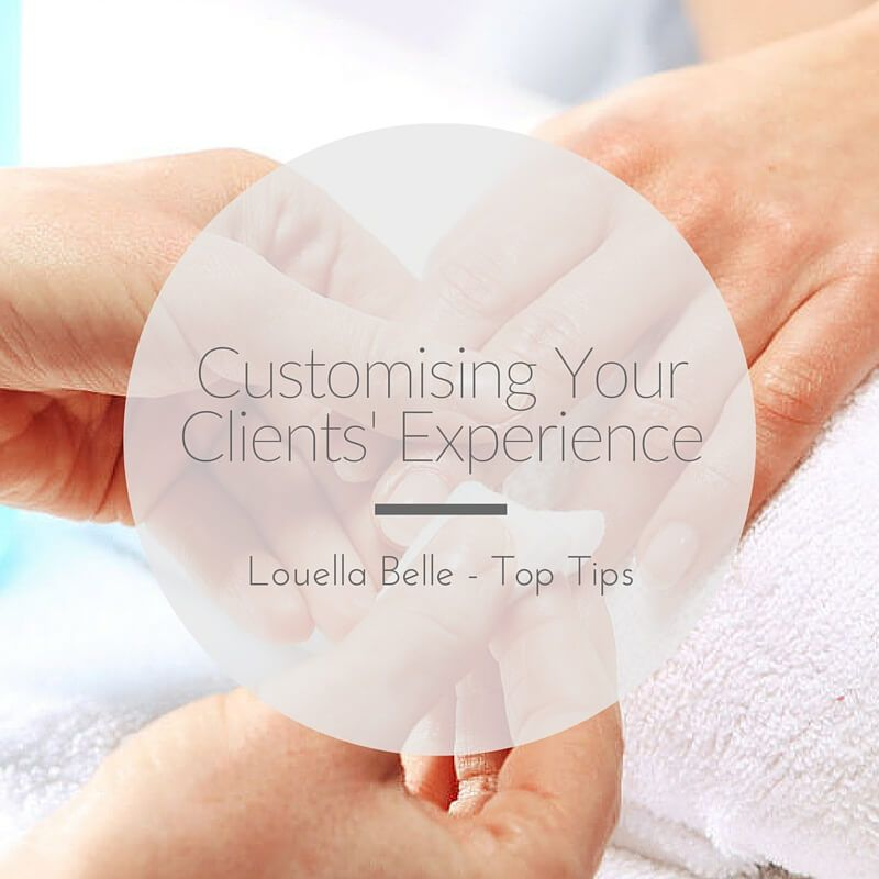 Louella Belle Customising Clients Experience