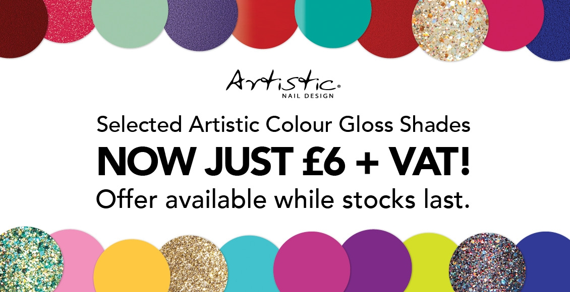 Artistic Colour Gloss January 2019 Sale