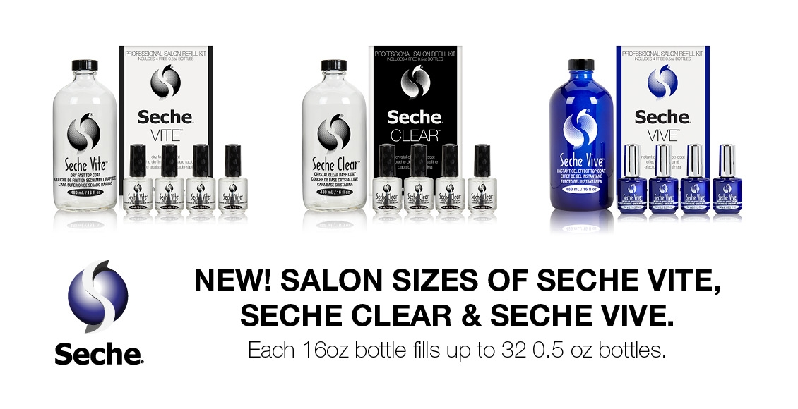 Seche Salon Sizes - Launch