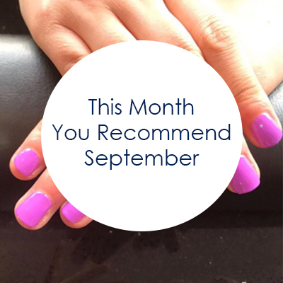 This Month You Recommend - September