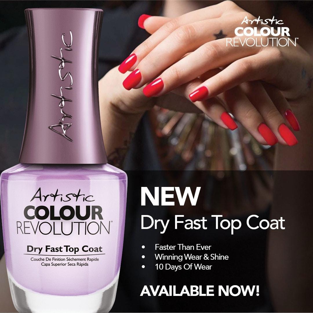 Artistic Colour Revolution Dry Fast Top Coat