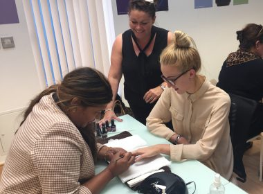 The Art Of Gel Polish Training With Louella Belle Educator Sue Davies!