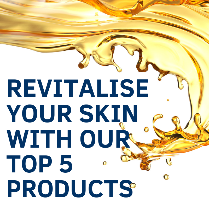 Top 5 Products To Revitalise Your Skin