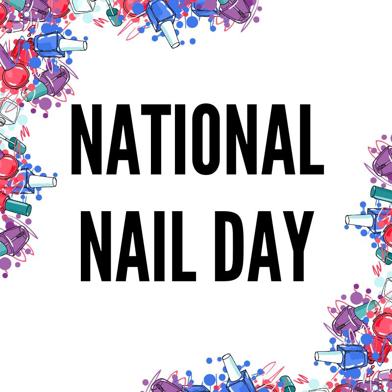 National Nail Day Nail Art
