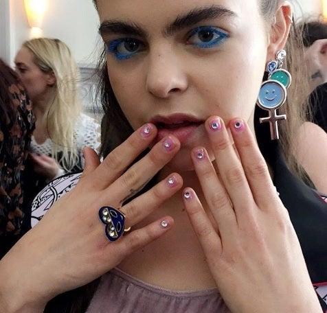 Louella Belle At London Fashion Week!