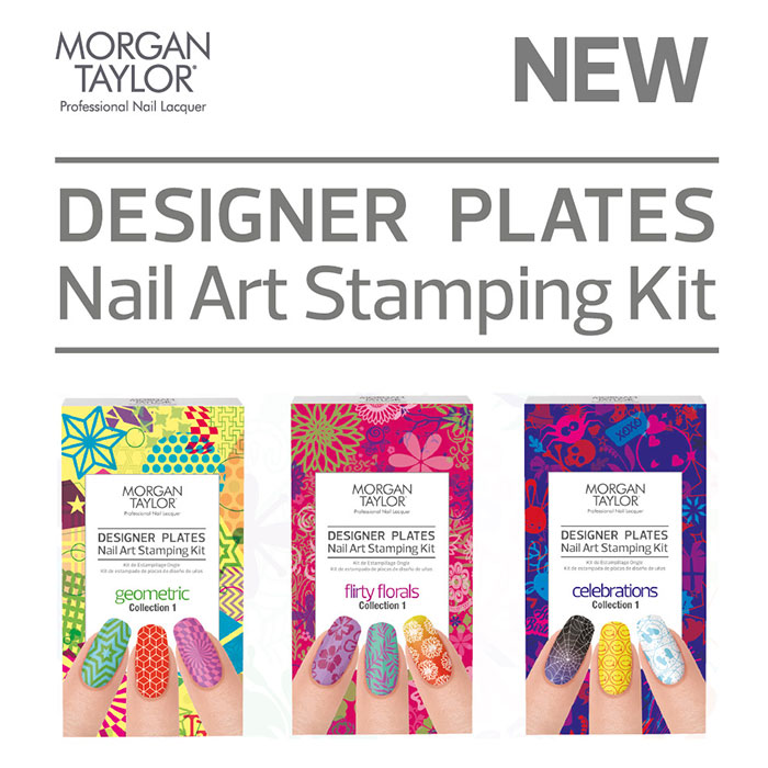 Put Your Stamp On Next Level Nail Art With Morgan Taylor Designer Plates