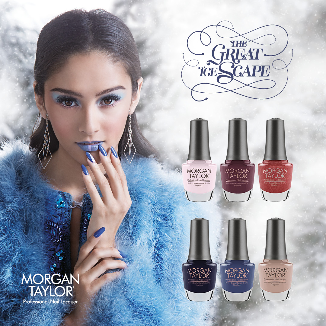 The Great Ice-Scape! The New Winter Collection From Morgan Taylor Has Arrived!
