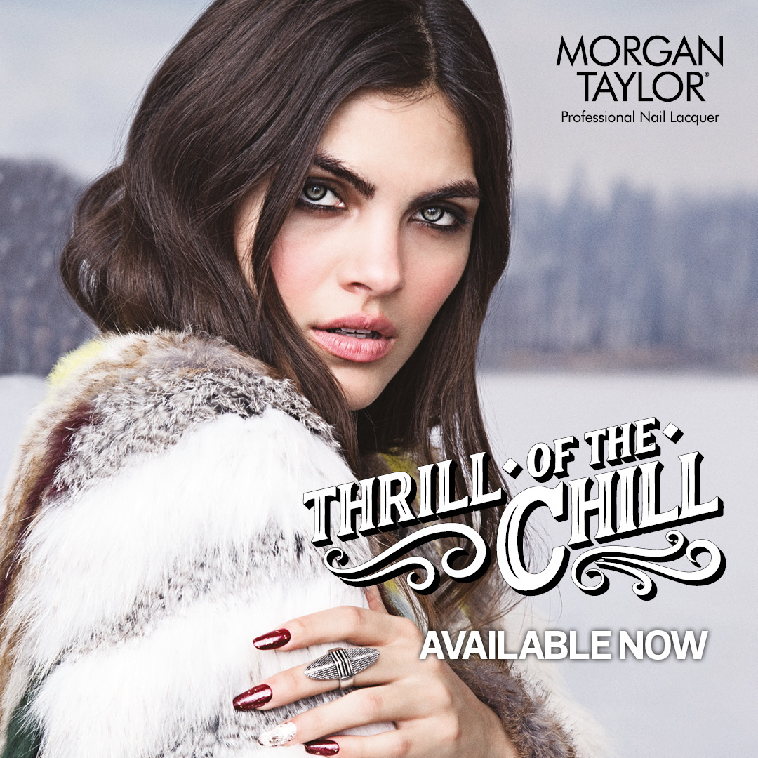 Introducing The New Morgan Taylor Thrill Of The Chill Winter Collection!
