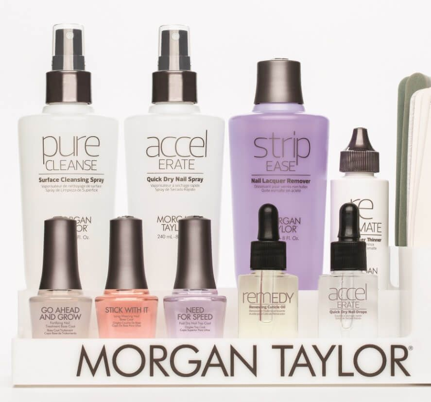Complete A Morgan Taylor Manicure With The New Essentials Range.