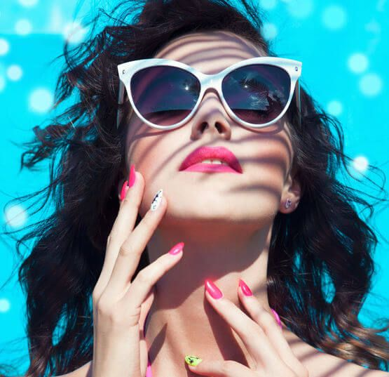 On Trend: Neon Nails