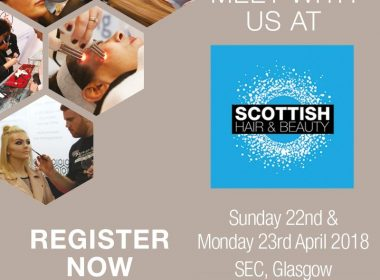 We're Exhibiting at Scottish Hair & Beauty!
