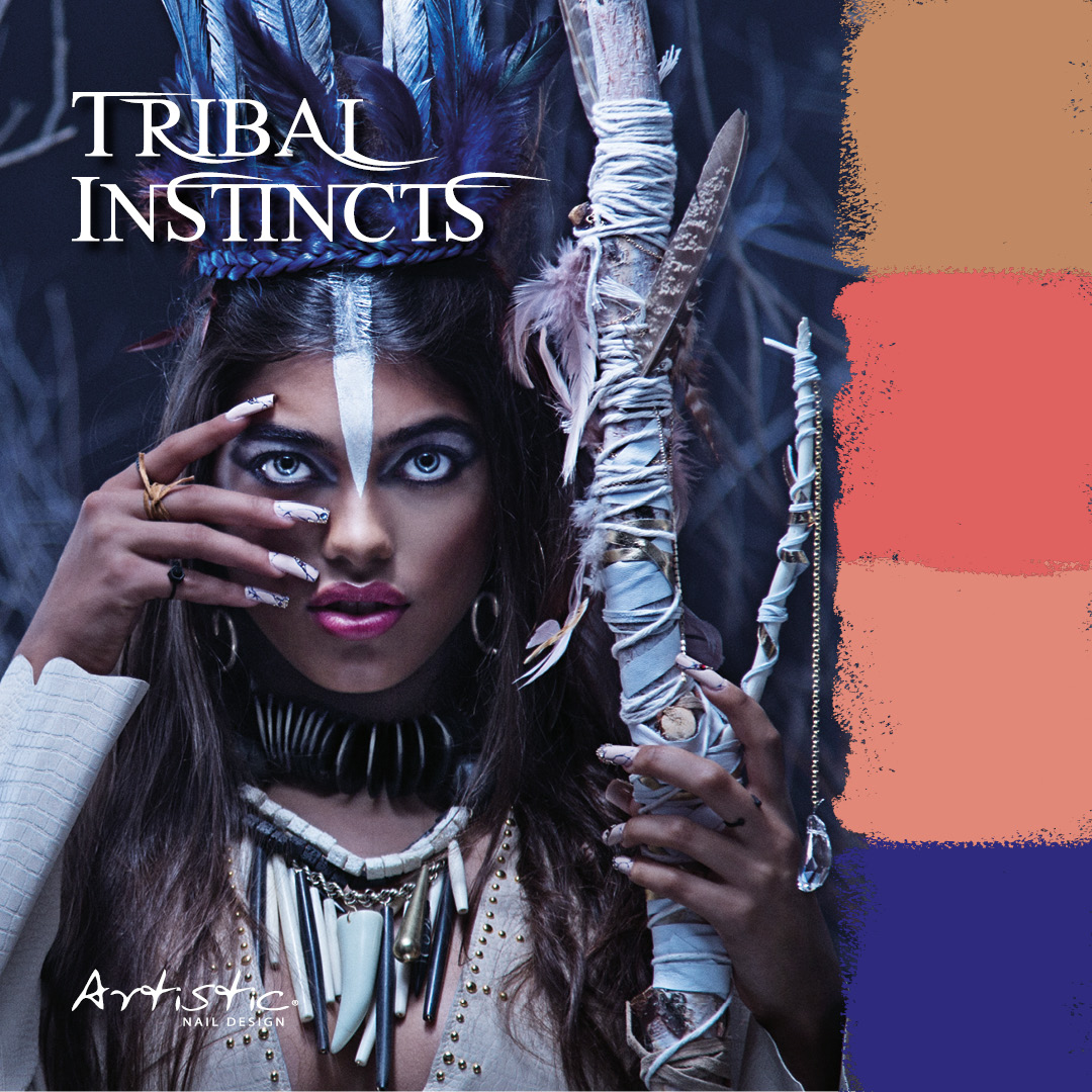 Artistic's Tribal Instincts Step By Step Nail Art!