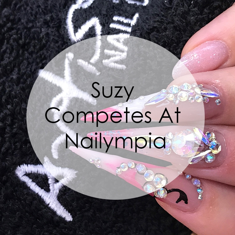 Suzy Competes At Nailympia