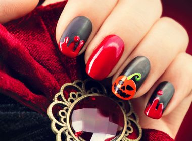 Halloween Nail Art With Louella Belle!