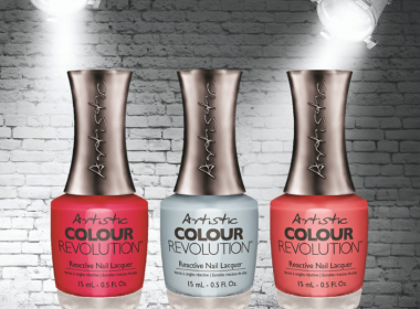 Reactive Hybrid Colour From Artistic Nail Design