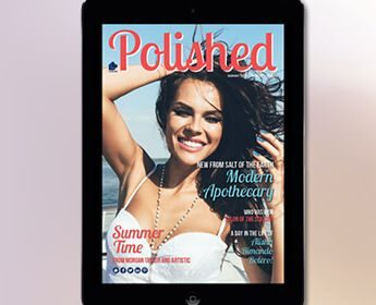 Introducing The New Polished Magazine & Your Chance To Win An iPad!