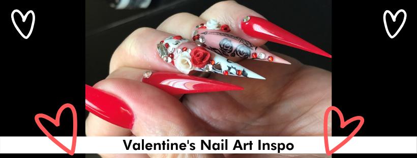 Valentine's Nail Art Inspo