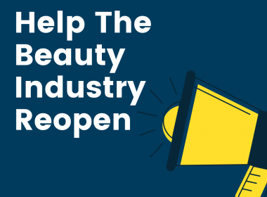 Help The Beauty Industry Reopen