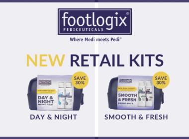 NEW Footlogix Retail Kits