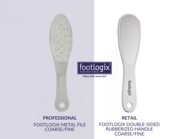 Footlogix Metal File: Grit Information