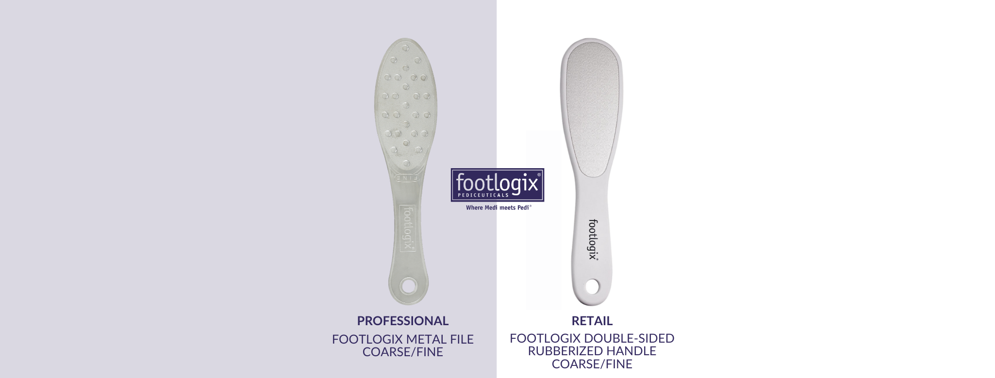 Footlogix Metal File: Grit Information