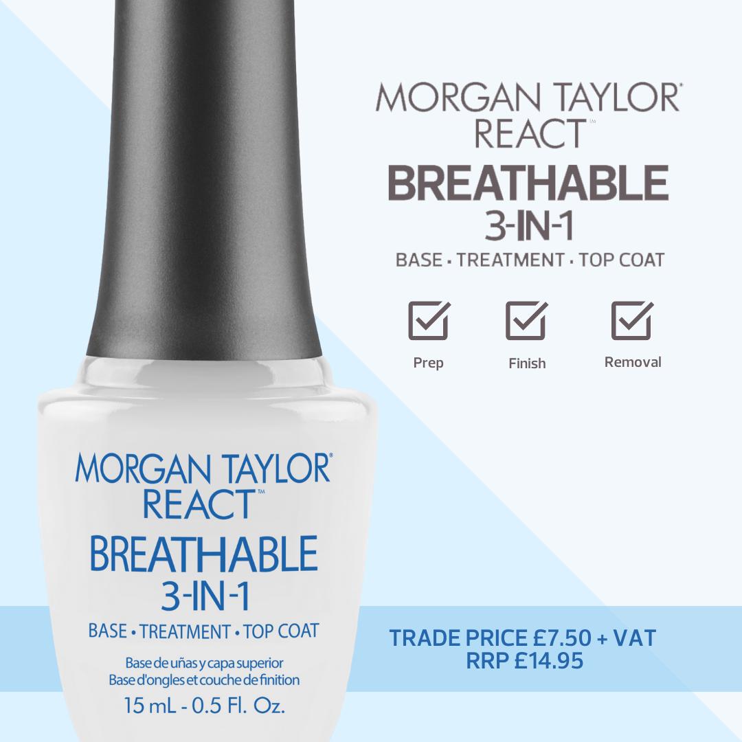Morgan Taylor REACT Breathable 3 - In - 1
