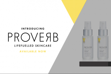 Introducing Proverb, the sanitiser to support our new normal.